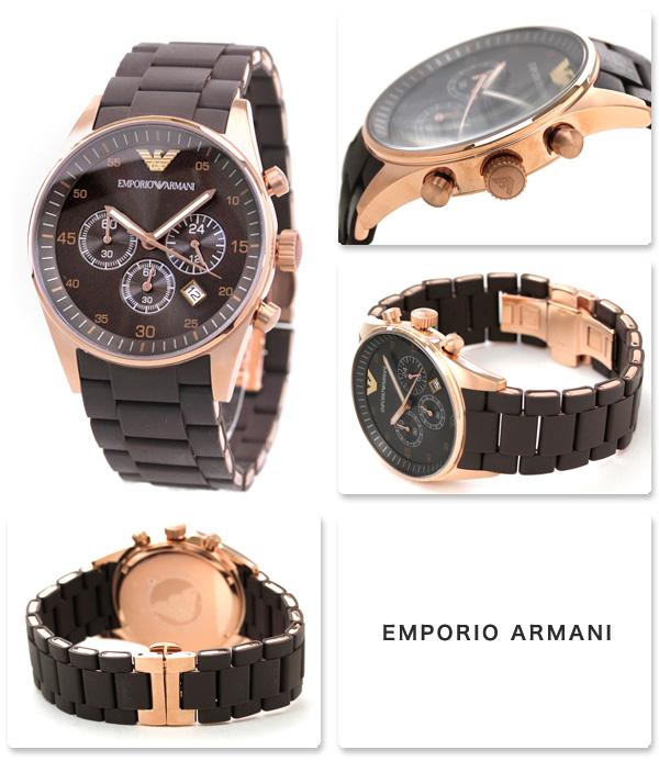 size 40 95ff2 a0f5b EMPORIO ARMANI エンポリオ アルマーニ 腕時計 メンズサイズ ...