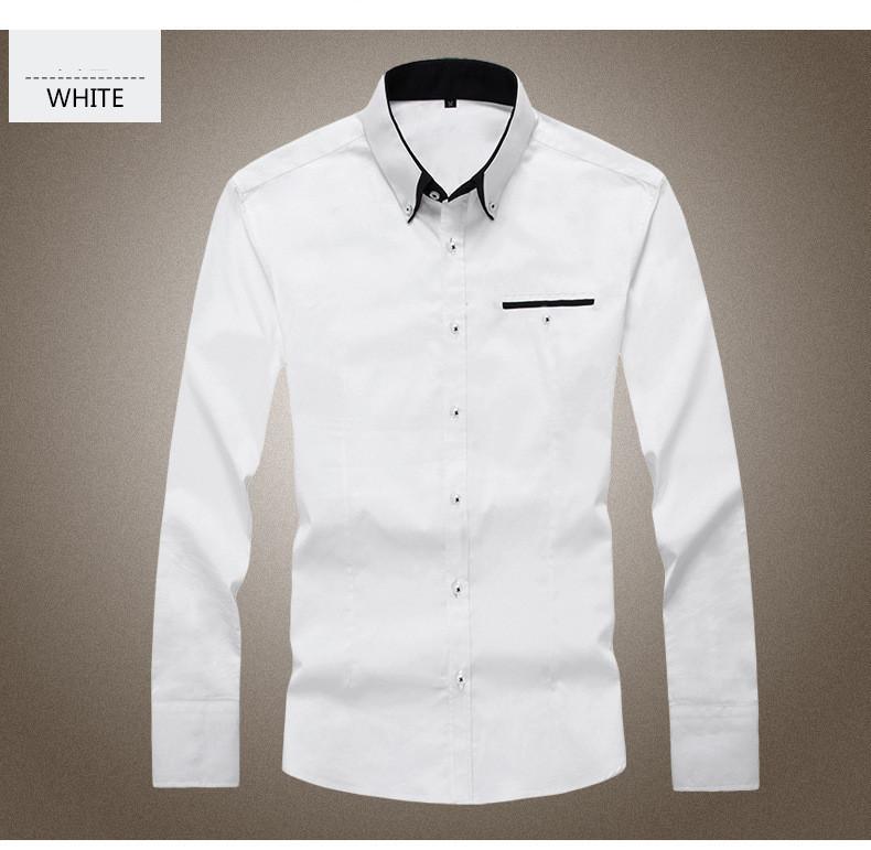 男性古典的なファッション熱い- 販売日当たりの良い綿通気性と快適なメンズシャツボックス