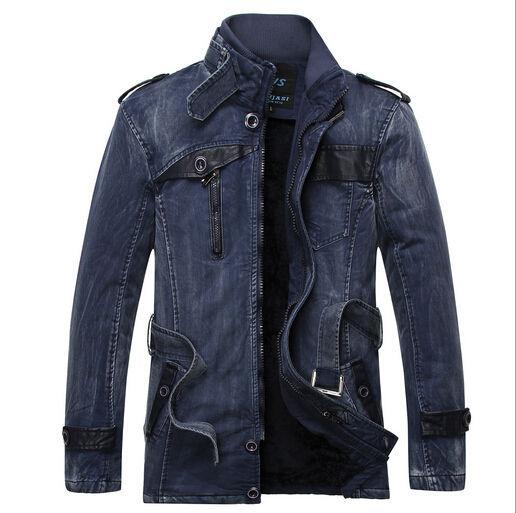 ファッションデザインジーンズジャケット卸売ジャケット卸売キャプテンアメリカ古典的なアメリカのジーンズメーカーとベルベットのセーリングジャケット