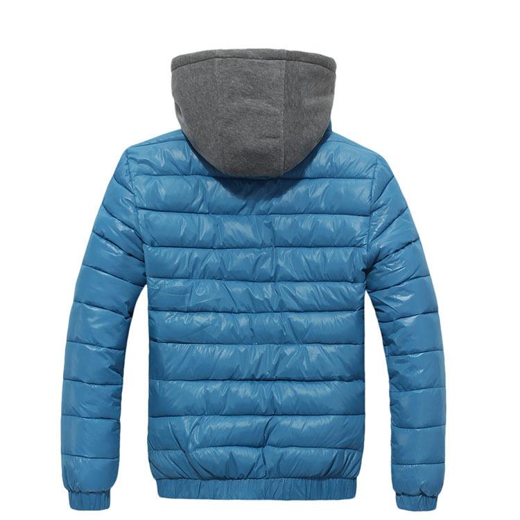 メンズpu洗浄革の冬の衣服株式