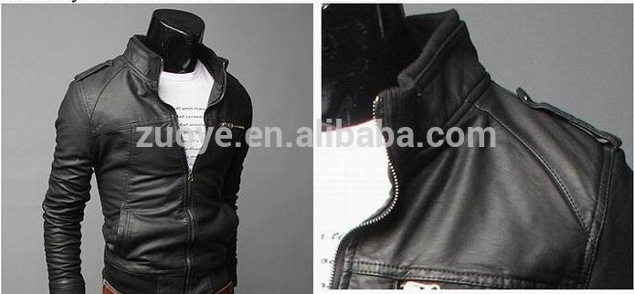 ヌバック卸売ファッションデザインシアルコットパキスタンでバイクの革のジャケット