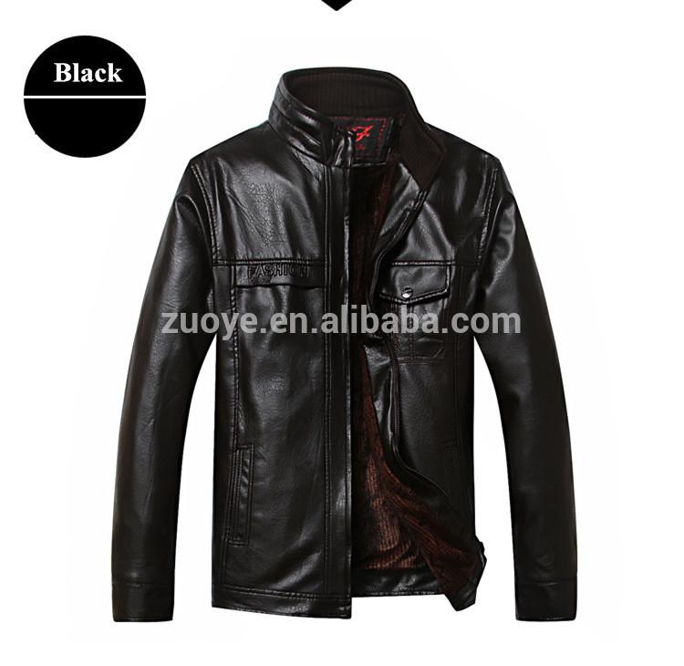 新しい到着のホットodm水牛革のジャケット男性の価格