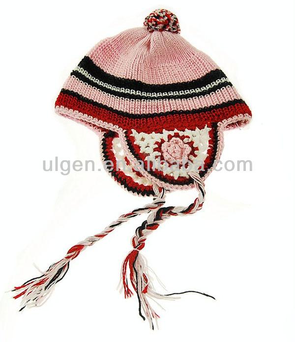 暖かい帽子卸売ボンネット外国貿易独自のロゴビーニー