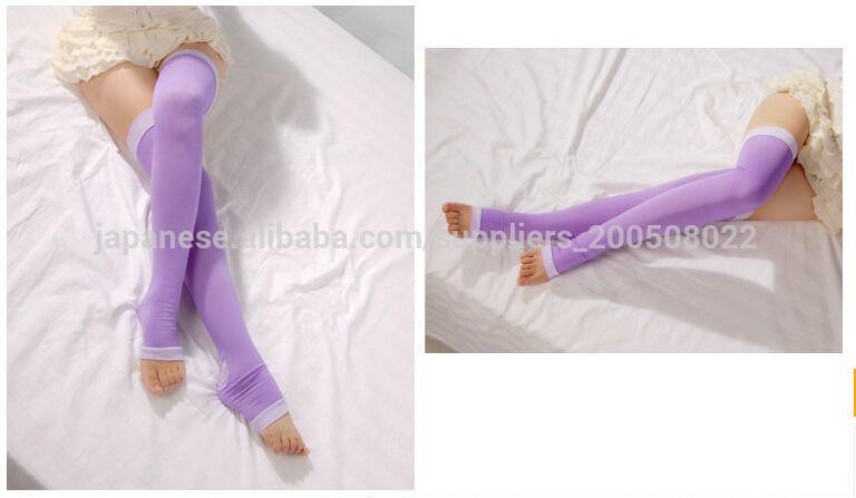 睡眠ソックス スキニーふくらはぎソックス 弾性ストッキング脂肪燃焼ストーブパイプ 2014人気五分靴下