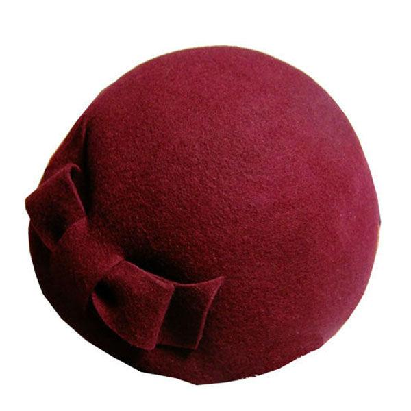 最新の到着2013スチュワーデスの帽子のためのエアホステスのウール