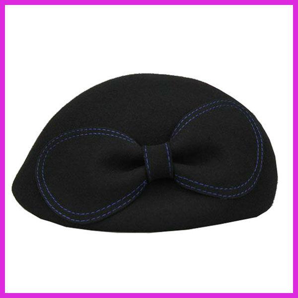 100%熱い販売のためのエアホステススチュワーデスの帽子ウール