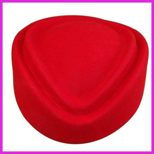 最高品質のウールの女性のための航空会社のスチュワーデスの帽子
