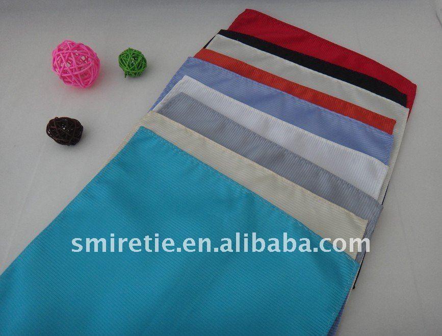 カスタム絹のハンカチハンカチポケット正方形