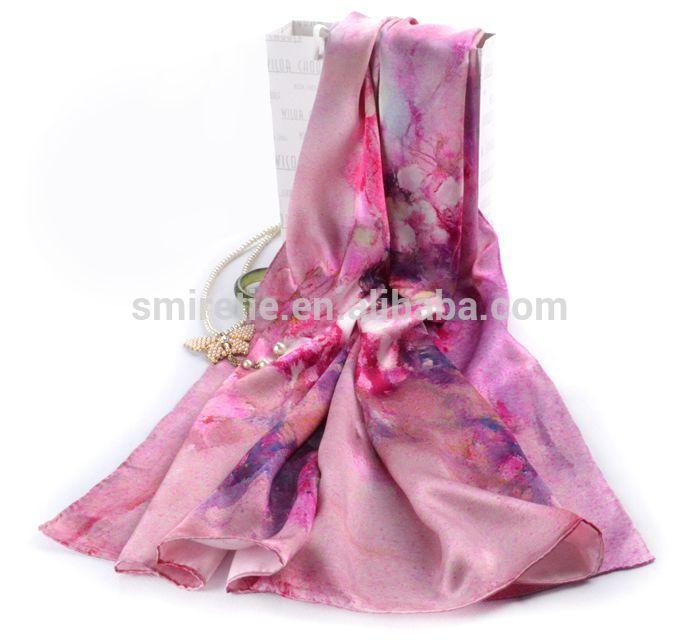 新製品2014年デジタルプリント絹のスカーフのマシン