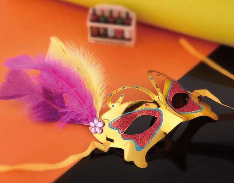 熱い販売のプラスチック製のハロウィーンの装飾材料安いマスクを販売する怖いハロウィーンパーティーマスク