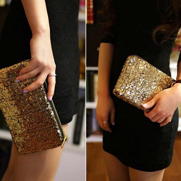 合肥bv9094zhijing2014年夏新ファッションエンベロープのスパンコールのついた袋の財布の女性エレガントなストリートカジュアルの夕食袋