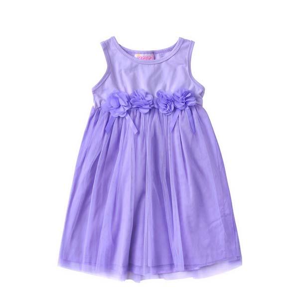 外国貿易2014年夏の子供服の女の子プリンセスドレス卸売子供のスカートネットベール赤ちゃんの女の子のパーティードレス