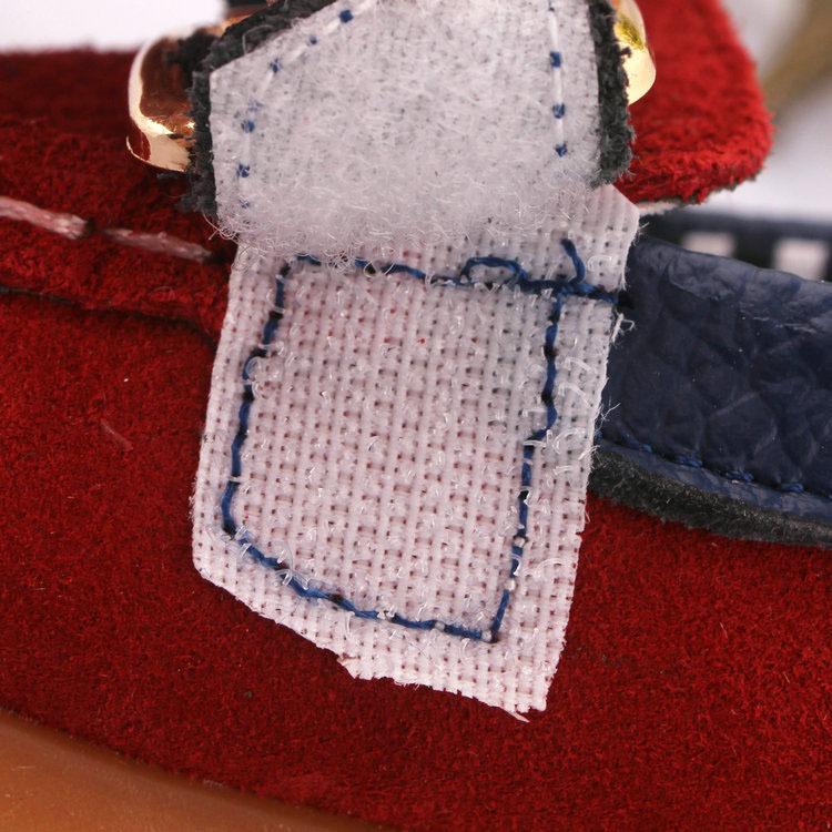 幼児の靴本革ts22330- 1歳の赤ちゃん男の子の靴マジックテープでエンドウ豆
