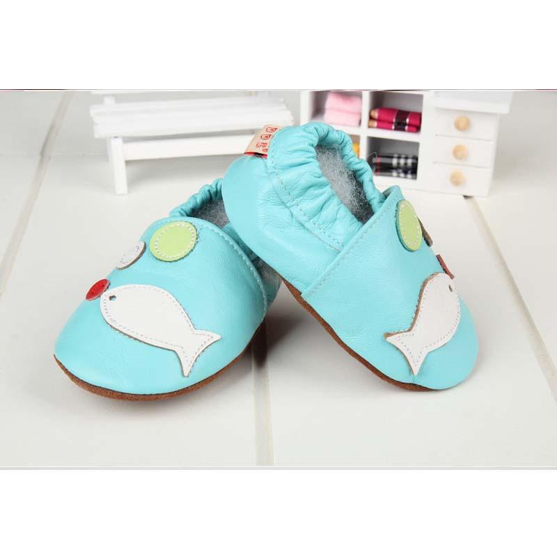 新しい革のベビーシューズts22772015外国貿易の靴人魚の幼児の靴