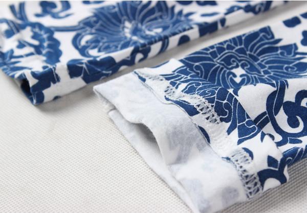花のパターンta12021柔軟なバネ卸売レギンスキッズ