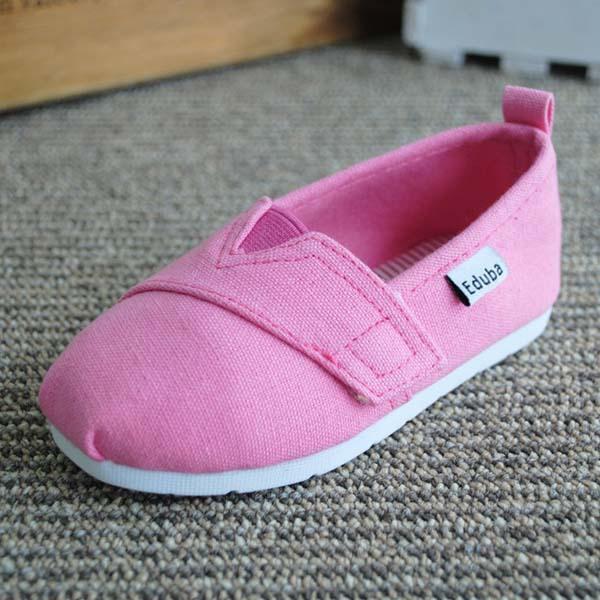合肥ts5007zhijing子供の春の外国貿易と秋ソリッドカラーフラットキャンバスシューズ怠惰な工場の靴子供用