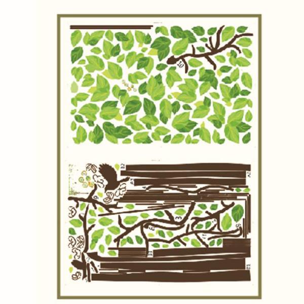 木 アルバム 安い PVC 透明 壁紙シール ウォールステッカー ウォールペーパー シール