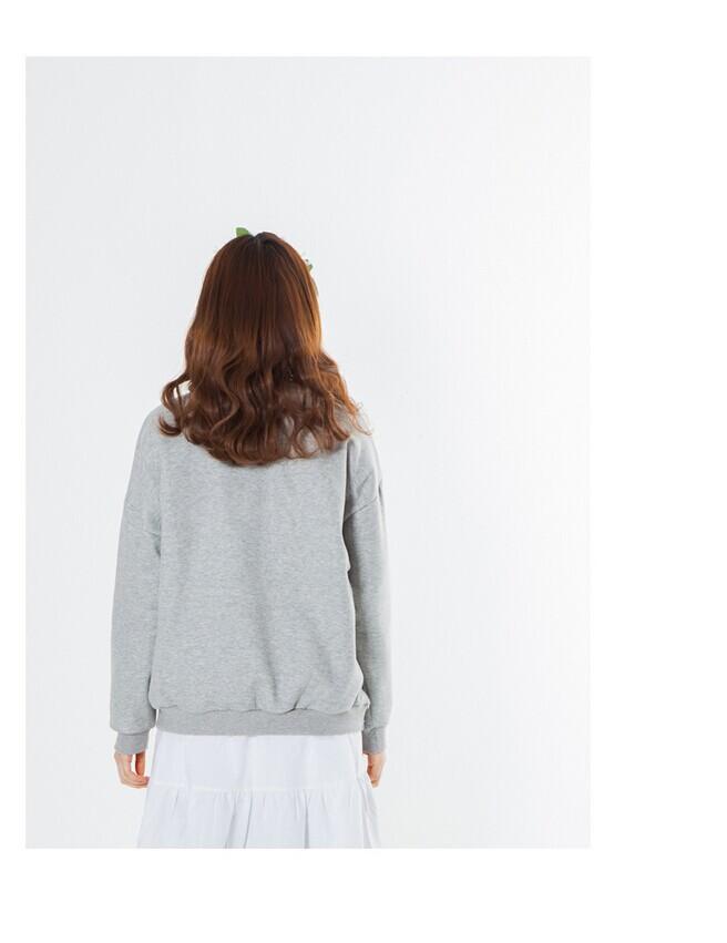 トレンディなファッション貿易2015保証hoodieの女性緩いプルオーバーパーカーカスタムパーカー