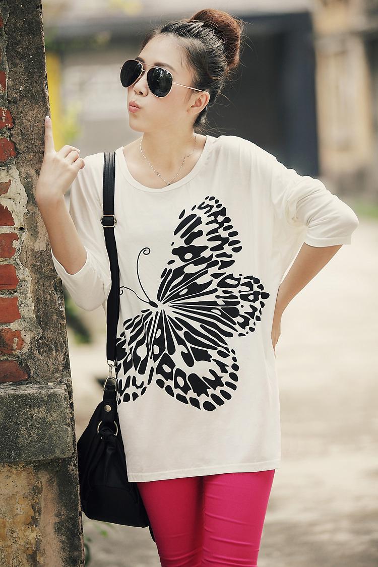夏のコウモリの衣装女性t- シャツ2015保証貿易