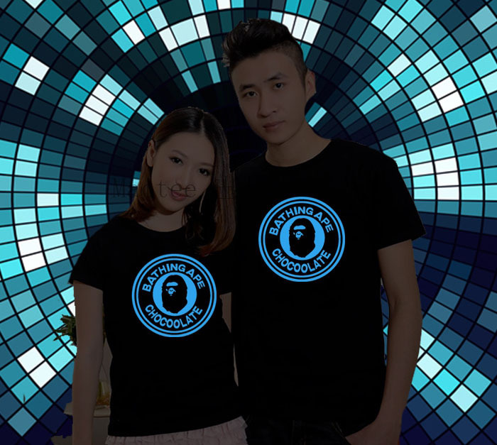 蛍光灯フォントプリントtシャツoネックロングスリーブメンズt- シャツプラスサイズ衣類
