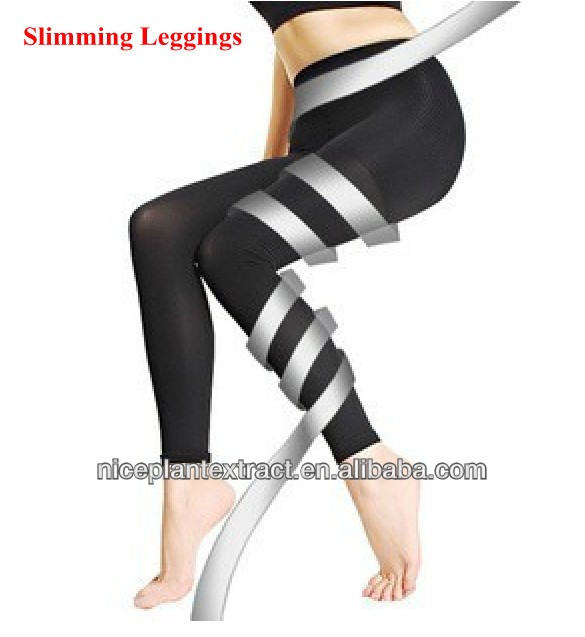 眠っているコンプレッションパンツレギンスを痩身ダイエットスパッツストッキング脂肪オフシェイパー