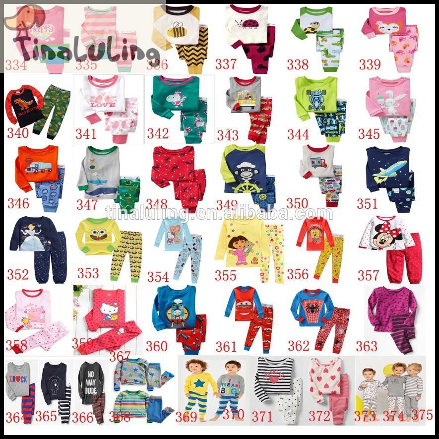 卸売綿のパジャマ子供面白いソフィア子供服パジャマセット