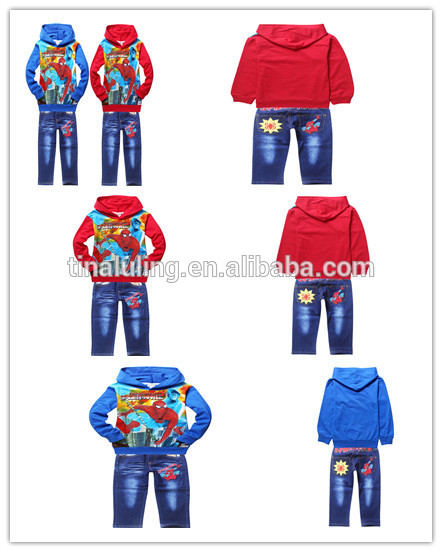 スパイダーマン2015ファッション衣料品衣類バルクロットの衣類メーカー