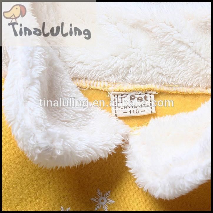 新しい到着の2015サンゴフリースロング女の子のぬいぐるみのための冬のコート襟フリースジャケット