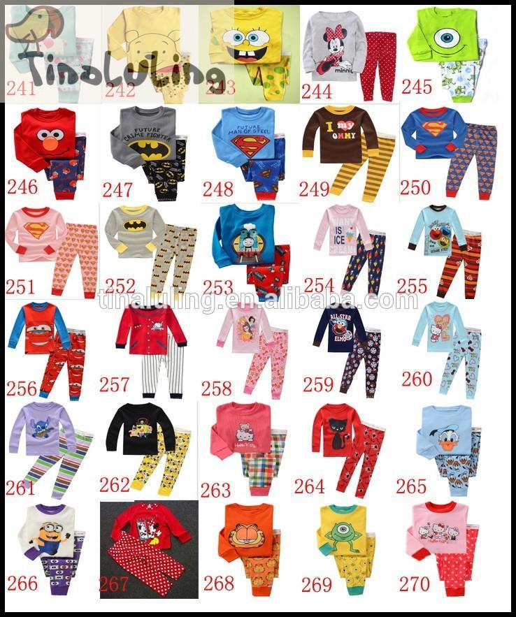 青漫画の熱い販売の赤ちゃんのパジャマ衣類パターンメーカー