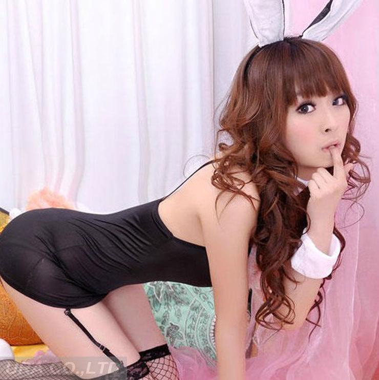 混合された卸売ドロップシップus1261エレガントな女性のセクシーなウサギのぬいぐるみ衣装制服誘惑複数セット